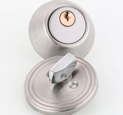 Single Cylinder Interlocking Deadbolt Lock With Key And Turn D101