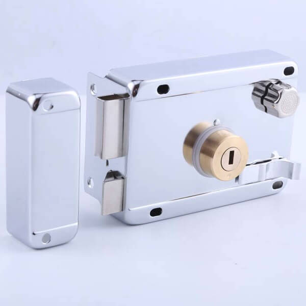 Antique Solid Brass Rim Locks For Sale And Interior Doors 211 CP HF 1 - Antique Solid Brass Rim Latch Lock For Interior Doors 211 CP-HF