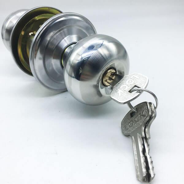 Entry Door Knob Lock Set For External Door And Bedroom Door 5791SS ET 5 - Entry Door Knob Lock Set For External Door And Bedroom Door 5791