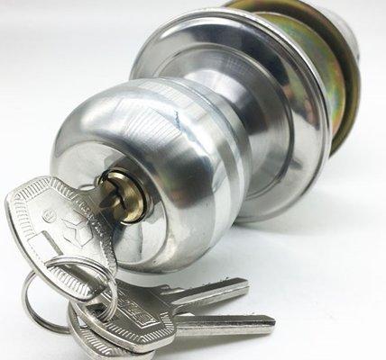 Exterior Door Knob Lock Set For Entrance Door And Bathroom Door 5731