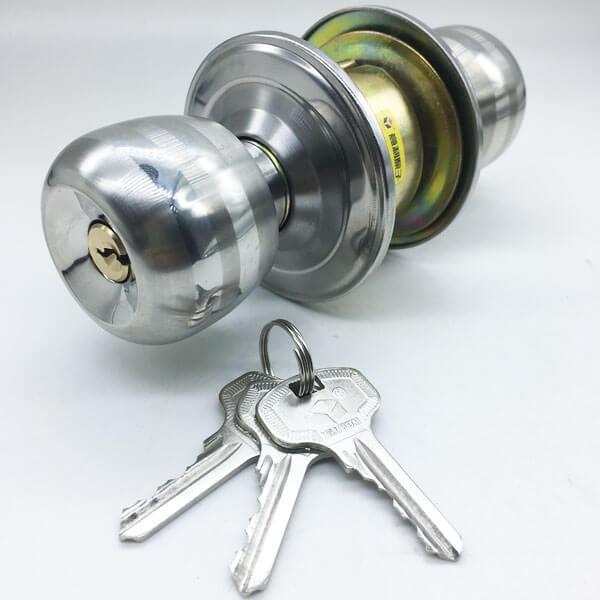 Exterior Door Knob Lock Set For Entrance Door And Bathroom Door 5731SS P ET 4 - Exterior Door Knob Lock Set For Entrance Door And Bathroom Door 5731