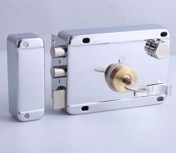 High Security External Gate Rim Locks For Interior Doors 211CP CA 1 - High Security External Gate Rim Locks For Interior Doors 211CP-CA