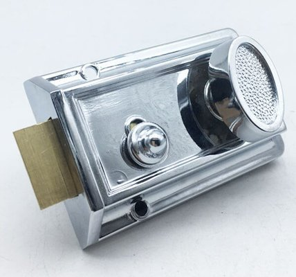 Bathroom Rim Latch With Turn Button For Interior Doors