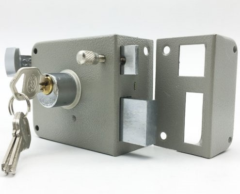 Traditional High Security Surface Mounted Rim Lock For Doors 715