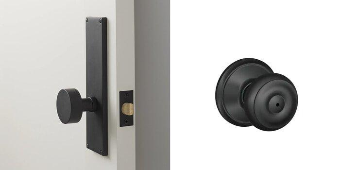BLACK HUGED DOOR KNOBS - What is Door Knob-The Most Comprehensive Introduction