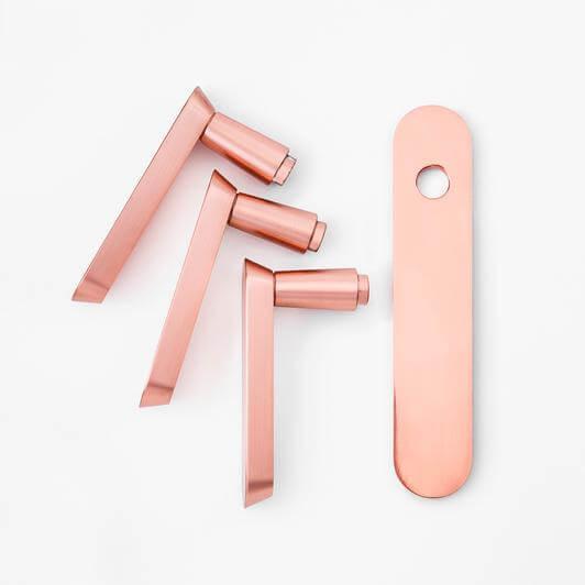 1609920982 Copper lever door handles - How To Choose Lever Door Handle?The Complete Guide