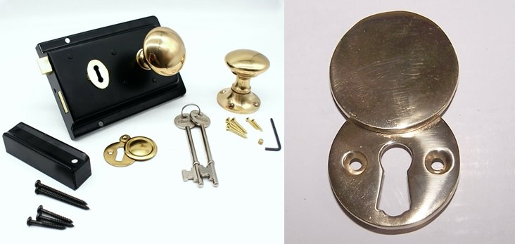 Escutcheon Plates - Door Rim Locks-The Most Comprehensive Buying Guide