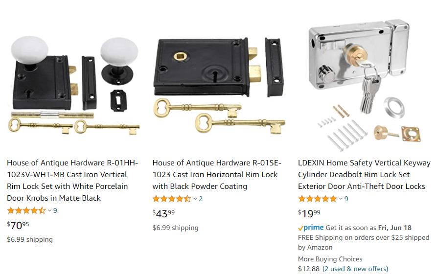 How Much is Rim Locks - Door Rim Locks-The Most Comprehensive Buying Guide