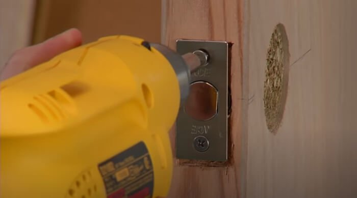 Secure the Bolt To the Door 1 - Deadbolt Locks-The Ultimate Buying Guide